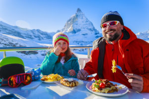 Как питаться лыжникам?