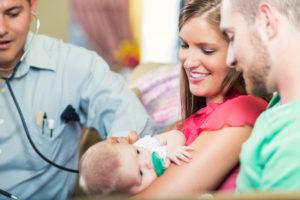 Первый раз с новорожденным в поликлинику