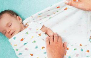 Пеленание новорожденных