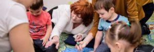 Развивающие занятия для детей 1,5-2 года: «Дракончик», «Осень», «Озеро» «Дракончик»