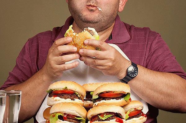 Переизбыток жирных продуктов